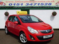 USED 2011 61 VAUXHALL CORSA 1.2 SXI AC CDTI ECOFLEX 5d 73 BHP 38,000 MILES, DIESEL, F/S/H, 2 OWNERS FROM NEW