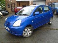 2004 KIA PICANTO 1.1 LX 5d 65 BHP £995.00