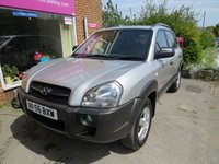 2006 HYUNDAI TUCSON 2.0 GSI CRTD 2WD 5d AUTO 139 BHP £3695.00