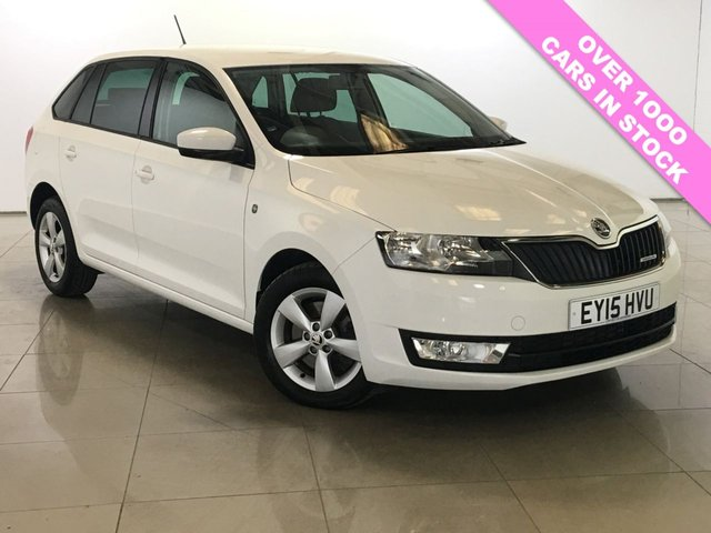 View our 2015 15 SKODA RAPID 1.6 GREENLINE TDI CR 5d 89 BHP