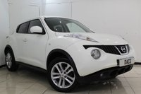 USED 2012 12 NISSAN JUKE 1.5 TEKNA DCI 5DR 110 BHP SERVICE HISTORY + HEATED LEATHER SEATS + SAT NAVIGATION + REVERSE CAMERA + BLUETOOTH + CRUISE CONTROL + MULTI FUNCTION WHEEL + CLIMATE CONTROL + 17 INCH ALLOY WHEELS