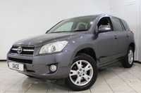 USED 2010 10 TOYOTA RAV4 2.2 XT-R D-4D 5DR 148 BHP FULL SERVICE HISTORY + LEATHER SEATS + PARKING SENSOR + CRUISE CONTROL + MULTI FUNCTION WHEEL + CLIMATE CONTROL + AUXILIARY PORT + 17 INCH ALLOY WHEELS