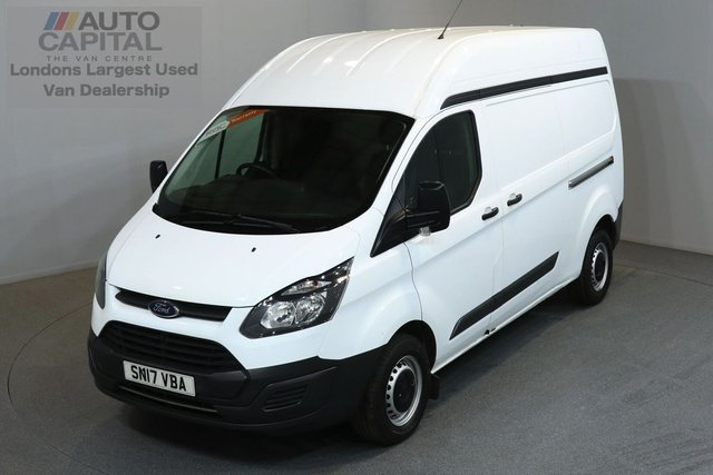 2017 17 FORD TRANSIT CUSTOM 2.0 290 129 BHP L2 H2 LWB HIGH ROOF E6 ONE OWNER FROM NEW, MANUFACTURE WARRANTY UNTIL 19/03/2020