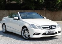 2011 MERCEDES-BENZ E CLASS 3.0 E350 CDI BLUEEFFICIENCY SPORT 2d AUTO 231 BHP £15995.00