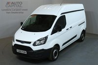 USED 2015 65 FORD TRANSIT CUSTOM 2.2 290 99 BHP L2 H2 LWB HIGH ROOF ONE OWNER FROM NEW, L2 H2, LONG WHEELBASE, HIGH ROOF