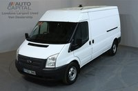 USED 2012 62 FORD TRANSIT 2.2 350 124 BHP L3 H2 LWB MEDIUM ROOF A/C ONE OWNER FROM NEW, DEALER SERVICE HISTORY