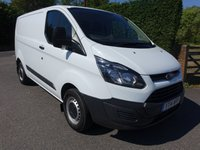 2014 FORD TRANSIT CUSTOM 270 L1 SWB 2.2Tdci 100Ps £9995.00