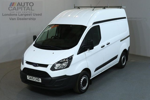 2015 15 FORD TRANSIT CUSTOM 2.2 270 99 BHP L1 H2 SWB HIGH ROOF  3 OWNER FROM NEW, SERVICE HISTORY