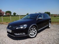 USED 2014 64 VOLKSWAGEN PASSAT 2.0 ALLTRACK TDI BLUEMOTION TECH 4MOTION 5d  RARE 4 WHEEL DRIVE PASSAT ESTATE