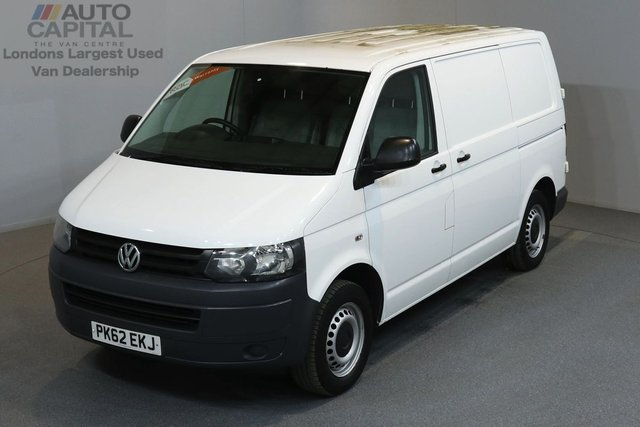 2012 62 VOLKSWAGEN TRANSPORTER 2.0 T28 TDI BLUEMOTION 84 BHP A/C SAT NAV 2 OWNER FROM NEW, MOT UNTIL 30/11/2018