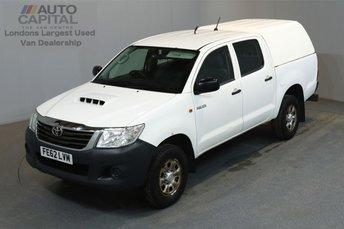 2012 TOYOTA HI-LUX 2.5 HL2 4X4 D-4D 142 BHP A/C  £7490.00