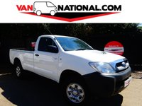 2011 TOYOTA HI-LUX 2.5 HL2 4X4 D-4D SINGLE CAB 144 BHP  (ONE OWNER, SUPER LOW MILES AIR CON, EXPORT WELCOME) £11990.00