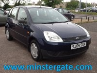 2005 FORD FIESTA 1.2 FINESSE 16V 5d 74 BHP * ONLY 64000 MILES * £1790.00