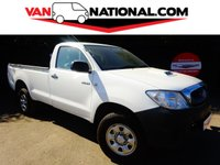 2011 TOYOTA HI-LUX 2.5 HL2 4X4 D-4D SINGLE CAB 142 BHP  (ONE OWNER, SUPER LOW MILES,AIR CON, EXPORT WELCOME) £11990.00