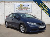 USED 2013 13 HONDA CIVIC 1.3 I-VTEC SE 5d 98 BHP One Owner Full Honda History 0% Deposit Finance Available