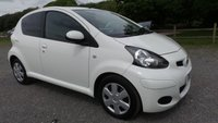 USED 2011 11 TOYOTA AYGO 1.0 VVT-I PLUS 5d 67 BHP LOW TAX,  2 X KEYS, TOYOTA SERVICE HISTORY, LOW RATE FINANCE, ELECTRIC WINDOWS, REMOTE LOCKING, CD-PLAYER, ABS, IDEAL 1ST CAR, LOW INSURANCE GROUP