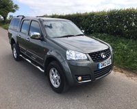 2012 GREAT WALL STEED TD SE 4X4 DCB £7995.00