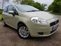 USED 2007 07 FIAT GRANDE PUNTO 1.2 DYNAMIC 8V 3d ALLOYS & A/C