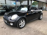 2010 MINI CONVERTIBLE 1.6 ONE 2d 98 BHP £SOLD