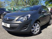 USED 2014 14 VAUXHALL CORSA 1.2 DESIGN 3d 83BHP 2KEYS+HISTORY+COLOUR CODED+