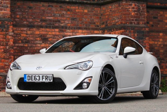 2013 63 TOYOTA GT86 2.0 D-4S 3dr