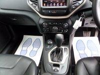 USED 2016 16 JEEP CHEROKEE 2.2 M-JET II NIGHT EAGLE 5d AUTO 197 BHP ** NAV * LEATHER **