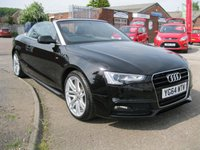 2014 AUDI A5 2.0 TDI S LINE SPECIAL EDITION 2d 175 BHP £17500.00