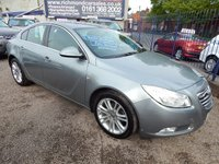 USED 2011 11 VAUXHALL INSIGNIA 2.0 EXCLUSIV CDTI 5d 128 BHP 1 OWNER FROM NEW, F.S.H, BODY COLOURED BUMPERS, AIR CON, ALLOYS