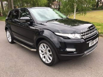 2011 LAND ROVER RANGE ROVER EVOQUE 2.2 SD4 PURE 5d AUTO 190 BHP PAN ROOF  £16950.00