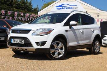 2011 FORD KUGA 2.0 TITANIUM TDCI 2WD 5d 138 BHP £9500.00