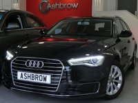 USED 2015 15 AUDI A6 AVANT 2.0 TDI ULTRA SE 5d 190 S/S NEW SHAPE, SAT NAV, DAB RADIO, BLUETOOTH PHONE & MUSIC STREAMING, AUDI MUSIC INTERFACE FOR IPOD / USB DEVICES (AMI), FRONT & REAR PARKING SENSORS WITH DISPLAY,  LED XENON LIGHTS, ELECTRIC TAILGATE, FULL BLACK LEATHER INTERIOR, LEATHER MULTI FUNCTION STEERING WHEEL, CRUISE CONTROL, LIGHT & RAIN SENSORS, HILL HOLD, 1 OWNER FROM NEW, FULL AUDI SERVICE HISTORY, £30 ROAD TAX (118 G/KM)