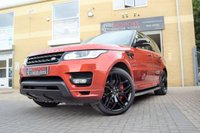 2014 LAND ROVER RANGE ROVER SPORT 3.0 SDV6 AUTOBIOGRAPHY DYNAMIC AUTOMATIC £43250.00