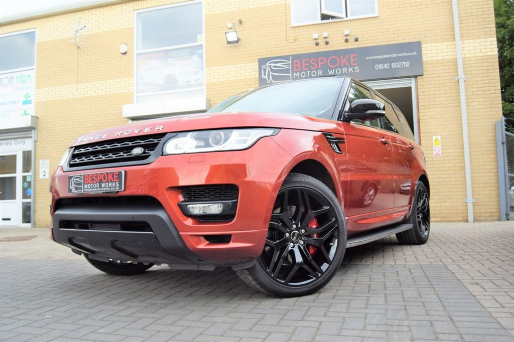USED 2014 64 LAND ROVER RANGE ROVER SPORT 3.0 SDV6 AUTOBIOGRAPHY DYNAMIC AUTOMATIC