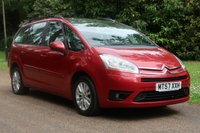 2008 CITROEN C4 GRAND PICASSO 1.8 VTR PLUS 16V 5d 124 BHP £2000.00