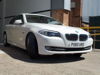 2010 BMW 5 SERIES 2.0 520D SE 4d AUTO 181 BHP £10500.00