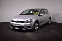 USED 2014 64 VOLKSWAGEN GOLF 2.0 SE TDI BLUEMOTION TECHNOLOGY 5d 148 BHP