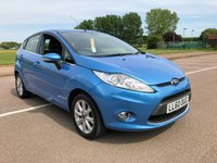 2010 FORD FIESTA 1.4 ZETEC 16V 5 door £5495.00