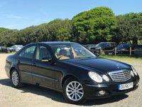 2006 MERCEDES-BENZ E CLASS 3.0 E280 CDI ELEGANCE 4d AUTO 187 BHP £4500.00