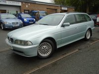 2001 BMW 5 SERIES 2.5 525D SE TOURING 5d 161 BHP £1695.00