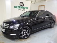2012 MERCEDES-BENZ C CLASS 2.1 C250 CDI BlueEFFICIENCY AMG Sport Plus 7G-Tronic Plus 4dr Saloon Diesel Automatic  £10494.00