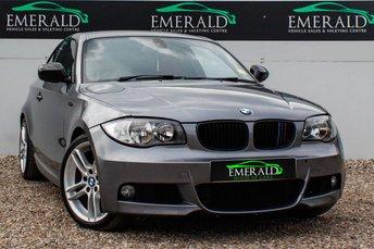 2011 BMW 1 SERIES 2.0 118D M SPORT 2d 141 BHP £8200.00