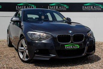 2013 BMW 1 SERIES 2.0 120D M SPORT 5d 181 BHP £10300.00