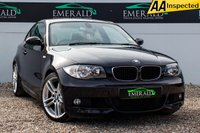 USED 2009 09 BMW 1 SERIES 2.0 120D M SPORT 2d AUTO 175 BHP £0 DEPOSIT FINANCE AVAILABLE, AIR CONDITIONING, BMW PROFESSIONAL, DUAL CLIMATE CONTROL, FULL CREAM LEATHER UPHOLSTERY, HEATED FRONT SEATS, KEYLESS START, PARKING SENSORS, STEERING WHEEL CONTROLS