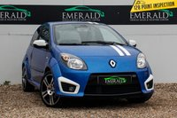 USED 2010 10 RENAULT TWINGO 1.6 GORDINI 3d 133 BHP £0 DEPOSIT FINANCE AVAILABLE, AIR CONDITIONING, CD/MP3/RADIO, CLIMATE CONTROL, CLOTH UPHOLSTERY, CRUISE CONTROL, STEERING WHEEL CONTROLS