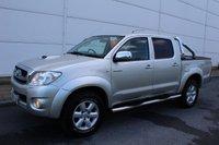2010 TOYOTA HI-LUX 3.0 INVINCIBLE 4X4 D-4D DCB 1d 169 BHP £10850.00