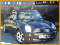 USED 2008 57 MINI CONVERTIBLE 1.6 COOPER 2d 114 BHP *LOW MILEAGE, SERVICE HISTORY*