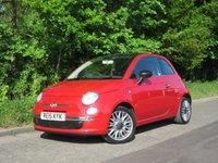 2015 FIAT 500 1.2 CULT 3d 69 BHP £6995.00