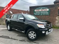USED 2016 16 FORD RANGER 3.2 LIMITED 4X4 DCB TDCI 4d 197 BHP Only 6,700 Miles, 3.2, Air Con, Full Leather Seats.