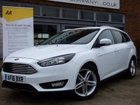 2016 FORD FOCUS 1.5 ZETEC TDCI 5d 118 BHP £SOLD