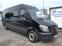 USED 2015 15 MERCEDES-BENZ SPRINTER 313 CDI LWB HI ROOF, 130 BHP [EURO 5], FULL SERVICE HISTORY, 1 COMPANY OWNER